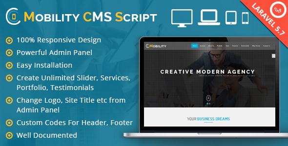 Mobility CMS Script Download