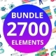 2700 Creative Professional Bundle - GraphicRiver Item for Sale