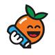 Creative Orange Logo Template - GraphicRiver Item for Sale