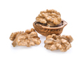 Walnuts isolated on white background - PhotoDune Item for Sale