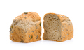 Whole wheat bread on white background - PhotoDune Item for Sale