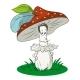 Cartoon Mushroom - GraphicRiver Item for Sale