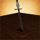 Spiral Handled Dagger - 3DOcean Item for Sale