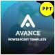 Avance Presentation Template - GraphicRiver Item for Sale