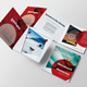 Extreme Sport Square Trifold - GraphicRiver Item for Sale