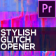 Stylish Glitch Opener - VideoHive Item for Sale