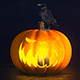 Halloween Pumpkin Logo - VideoHive Item for Sale