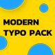 Modern Typography - VideoHive Item for Sale