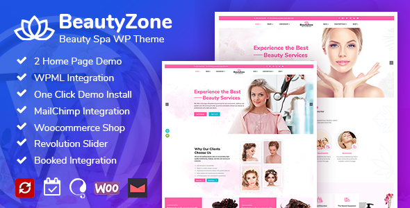 BeautyZone: Beauty Spa Salon WordPress Theme