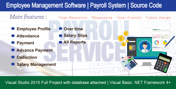 Payroll System Plugins, Code & Scripts from CodeCanyon