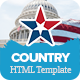 Country - Political HTML Template - ThemeForest Item for Sale