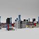 Low Poly Buildings Pack - 3DOcean Item for Sale