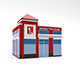Low Poly KFC Building - 3DOcean Item for Sale