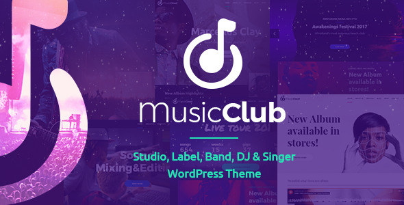 Music Club - Band & DJ