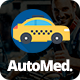 AutoMed - Auto Repair PSD template - ThemeForest Item for Sale