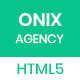 ONIX – Multipurpose Corporate/Business Agency HTML5 Template - ThemeForest Item for Sale