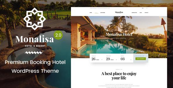 Monalisa | Hotel & Resort WordPress Theme