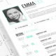 One Page Clean Resume - GraphicRiver Item for Sale