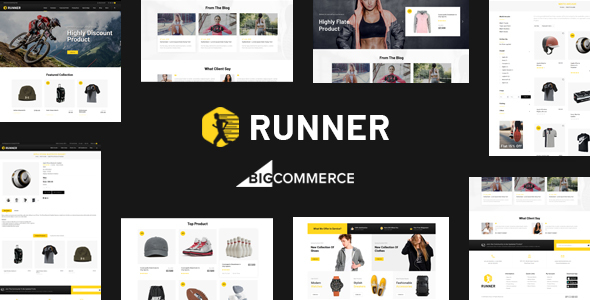 Runner - Multipurpose Stencil BigCommerce Theme