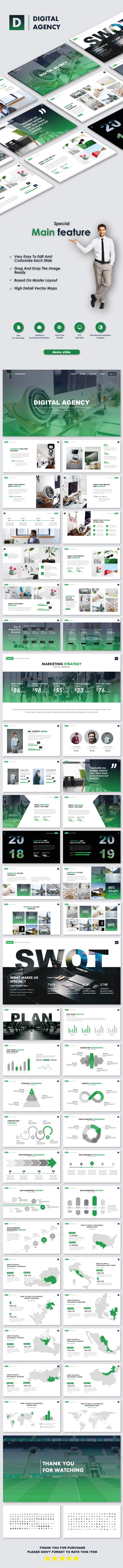 Digital Agency Business PowerPoint Templates