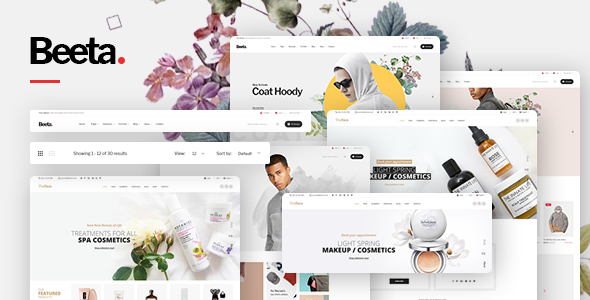 Beeta - Multipurpose eCommerce Bootstrap 4 Template