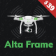 Altaframe - Drone Aerial Videography and Photo School WordPress Theme - ThemeForest Item for Sale