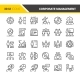 Corporate Management Icons - GraphicRiver Item for Sale