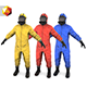 "Bio suit "" Hazmat worker "" - 3DOcean Item for Sale"