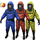 Hazmat Suit - 3DOcean Item for Sale