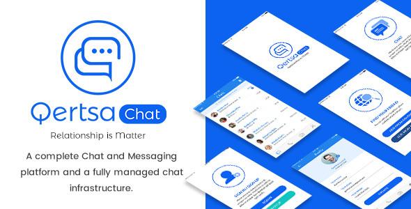 Qertsa - Mobile App PSD