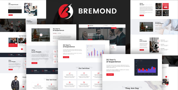 Bremond - Multipurpose Business Consulting WordPress Theme