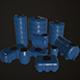Water Barrels Pack - 3DOcean Item for Sale