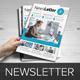 Newsletter Indesign Template v7 - GraphicRiver Item for Sale