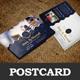 Wedding Invitation Postcard Design Template - GraphicRiver Item for Sale