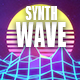 80s Synthwave Retro Logo