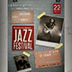 Jazz Festival Flyer / Poster - GraphicRiver Item for Sale