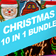 10 in 1 Christmas Photoshop Actions Bundle - GraphicRiver Item for Sale