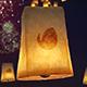 Diwali Sky Lantern Logo - VideoHive Item for Sale