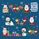 Christmas Characters Part 1 - GraphicRiver Item for Sale