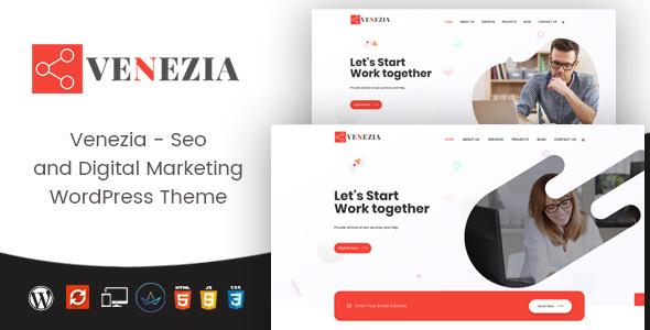 Venezia - Digital Marketing WordPress Theme