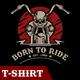 Born to Ride - GraphicRiver Item for Sale