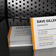 4 3D Metal Grid Scene Business Card Mockups With Realistic Reflections - GraphicRiver Item for Sale