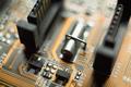 Electronic circuit blur - PhotoDune Item for Sale