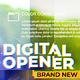 Digital Minimal Opener - VideoHive Item for Sale
