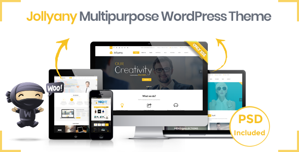 Jollyany - Corporate Multi Purpose WordPress Theme
