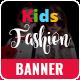 Kids Fashion Banner Set - GraphicRiver Item for Sale