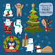 Christmas Characters Part 2 - GraphicRiver Item for Sale