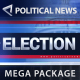 Broadcast - Political News / Election Mega Pack - VideoHive Item for Sale