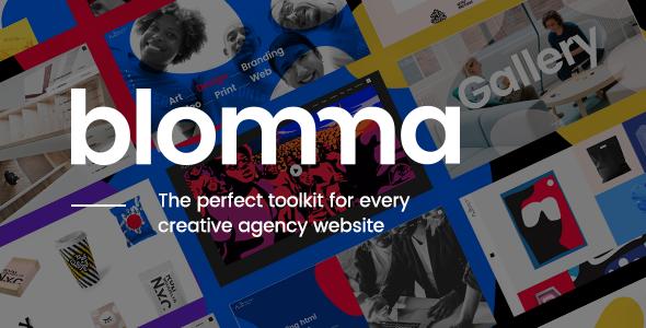 Blomma – Creative Agency Portfolio Theme