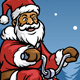 Santa Claus Ride Three Wheel Bicycle - GraphicRiver Item for Sale